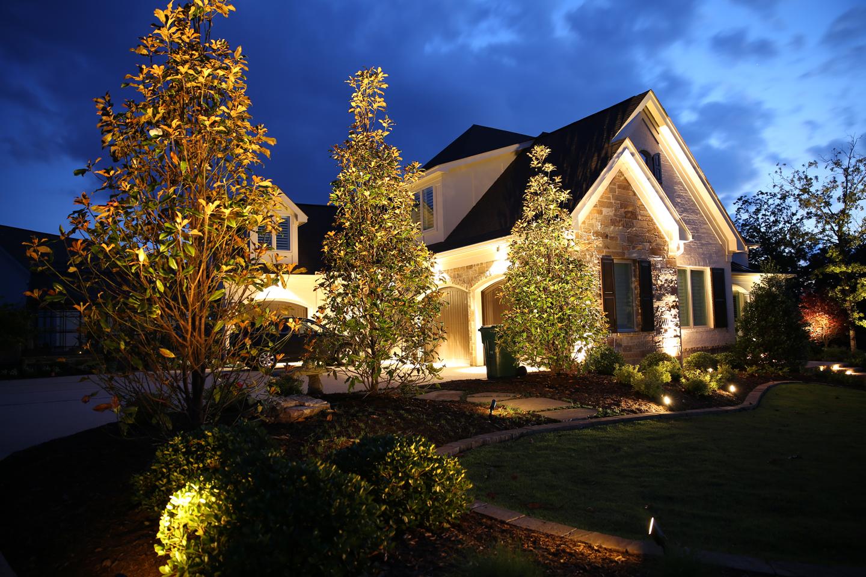 Landscape Lighting Tips - The Good Earth Garden Center